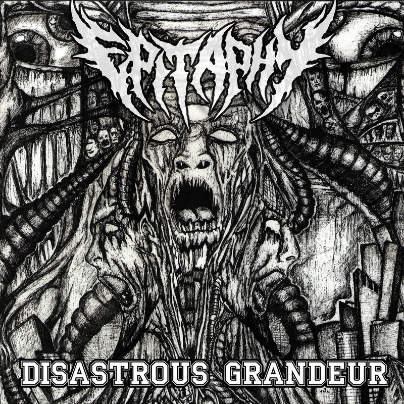 EPITAPHY — «Disastrous Grandeur» (1993) [Demo]