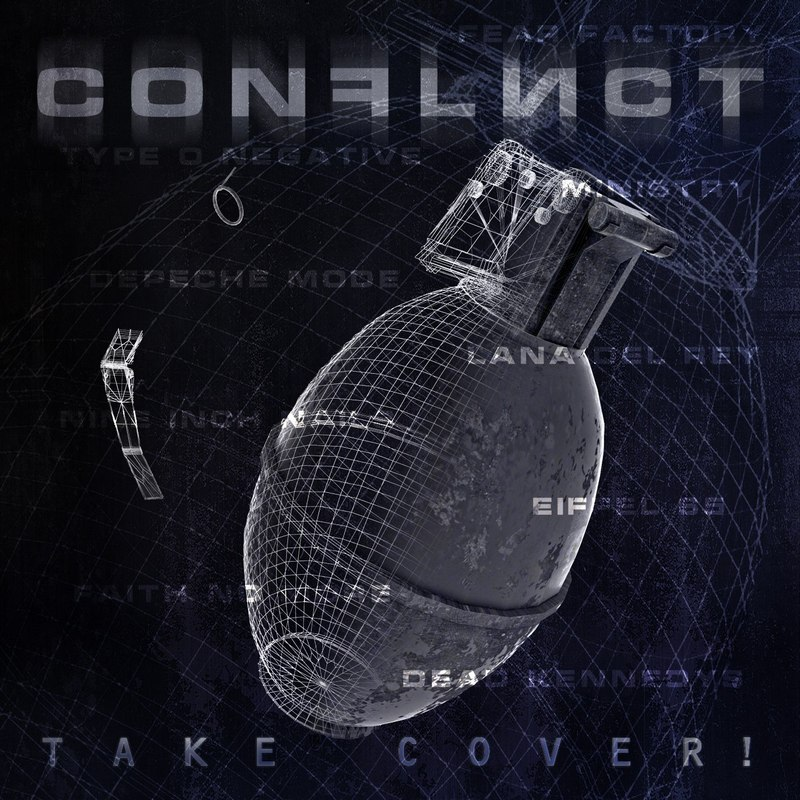 CONFLICT - Take Cover! (2017)